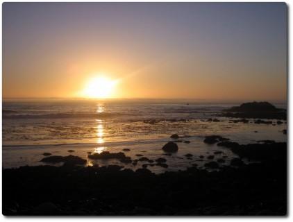 Sonnenuntergang am Point Pinos - Monterey