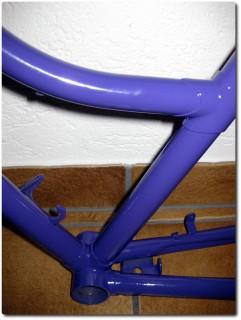 Teeny Fahrrad - Lila Rahmen