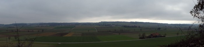 Panorama Limpachtal Nebel