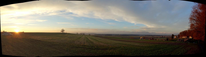 Panorama Linden mit ICE 2.0