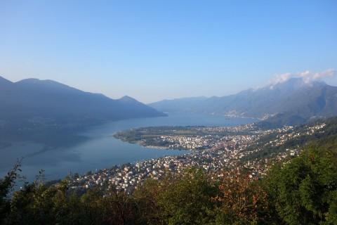 Blick auf den Lago Maggiore - Tag