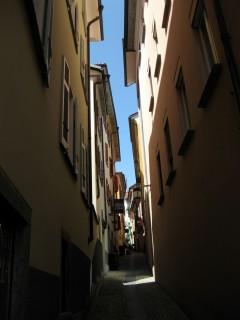 Gasse in Locarno