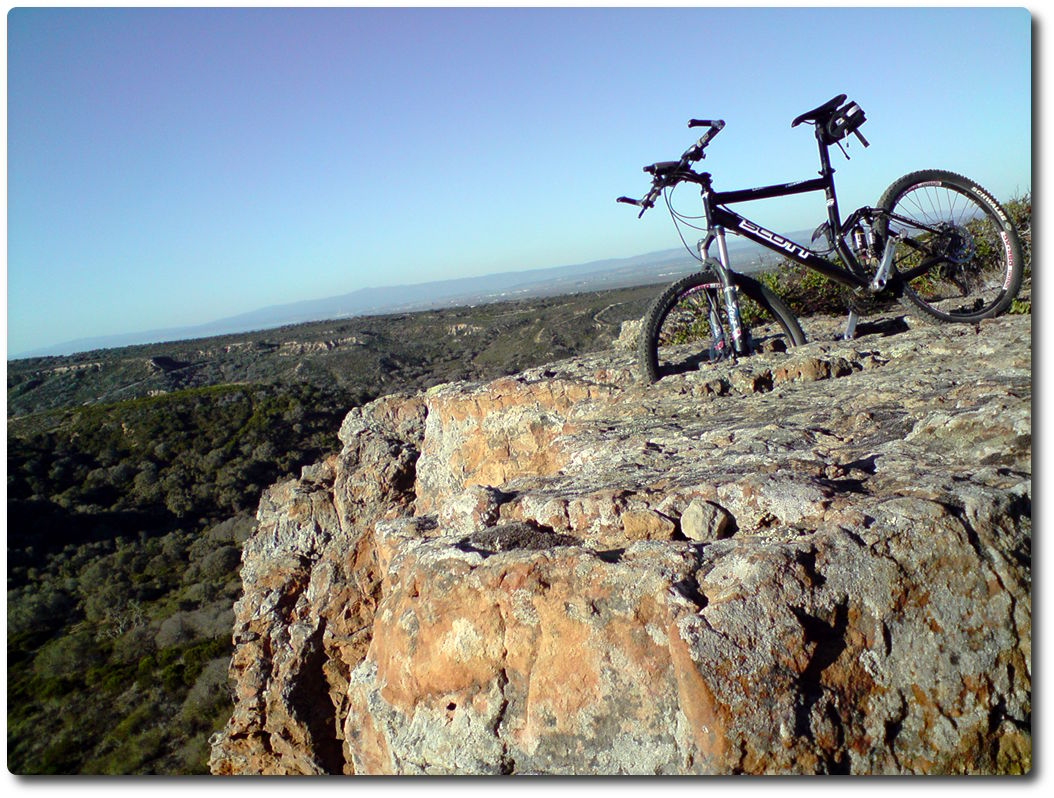 Fort Ord - Lookout und Mountainbike