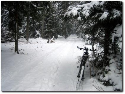 Winterbiken am Ostermontag 2008