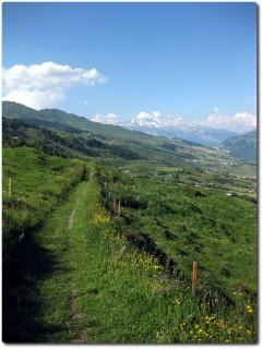Biken im Val Lumnezia - ein Genuss