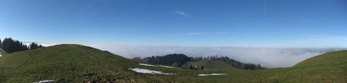 Ober Rafrüti - Panorama gegen Westen