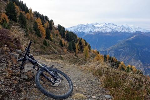 Aufstieg - Trail Montagne de Malève