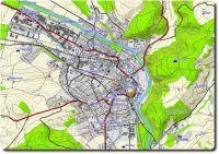 Mapsource TOPO Schweiz 1.1 Ansicht Burgdorf