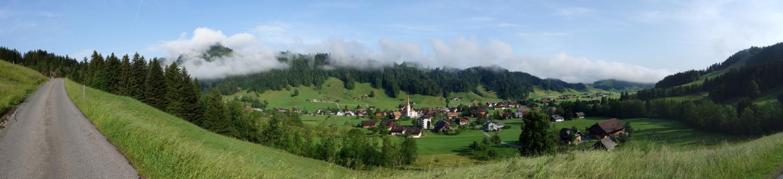 Panorama Marbach