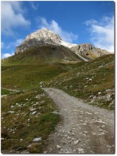 Anstieg ab Bergstation Marguns