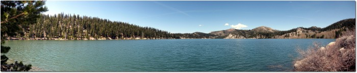 Panorama Marlette Lake