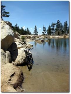 Weg unter Wasser - Marlette Lake