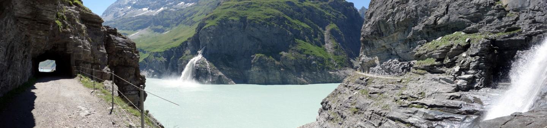Einrückliche Fels - und Wasserlandschaft