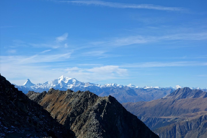 Blick bis zum Mont-Blanc