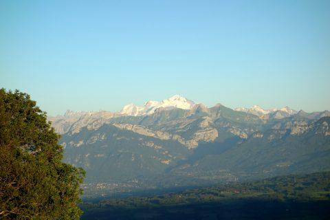Abendstimmung Mont-Blanc
