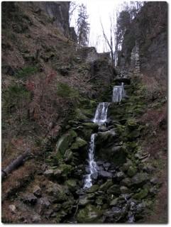 Melbach in der Rotzschlucht