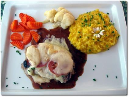 Mittagsmenu im Restaurant Salwald