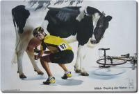 Anti Doping Milchwerbung