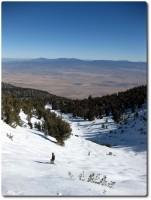 Milkyway Bowl und Blick auf Nevada