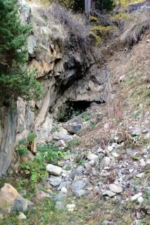 Minen La Méreune - Eingang