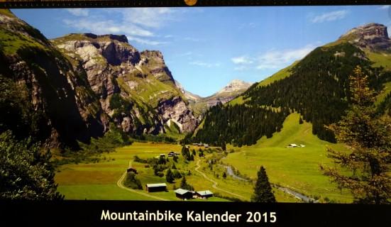 Mountainbikekalender 2015 - Titel