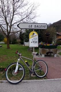 13 km Aufstieg bei Monnetier