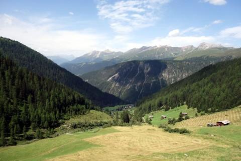 Blick Oberalp auf Monstein