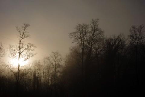 Start in der Morgensonne