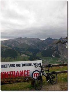 Livigno Mottolino Bikepark - Danke für den Shuttle...
