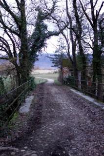 Grenzbrücke bei der Moulin Fabry