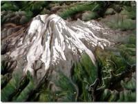 Mount Rainier - Modell