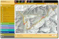 Mountainbikeland Interaktive Karte