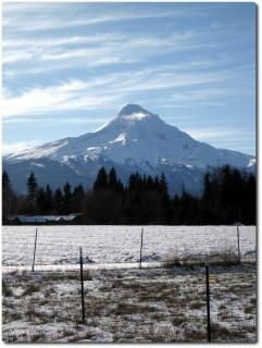 Mount Hood - Rückseite