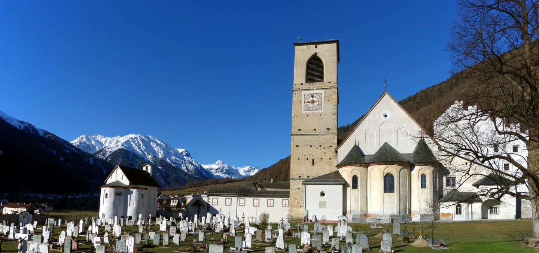 Kloster St. Johann Müstair - Panorama