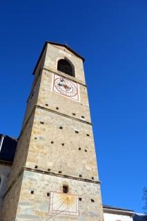 Kloster St. Johann Müstair - Kirchenturm