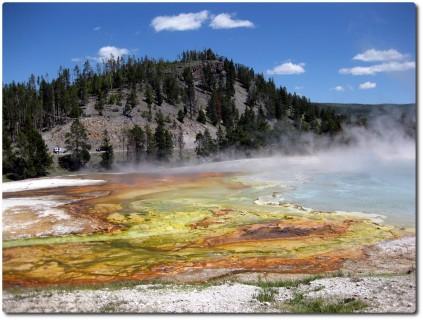 Midway Geysr Basin - Grand Prismatic Spring