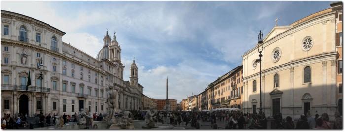 Panorama Piazza Navona 1