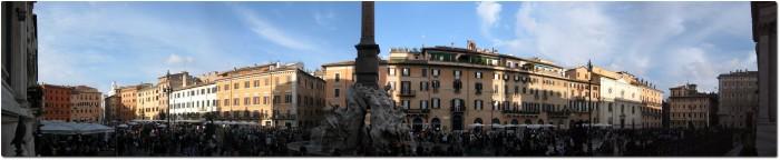 Panorama Piazza Navona 2