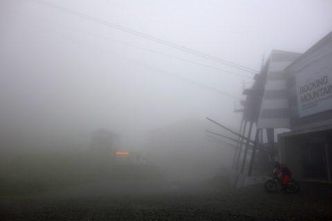 Nebelhölle bei Scharmoin