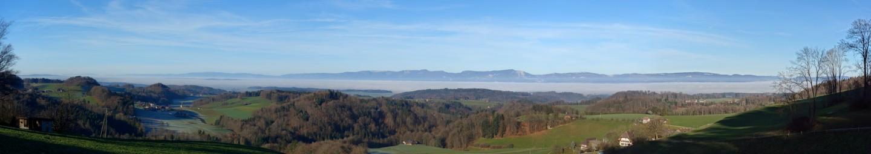 Panorama mir Nebelmeer und Jura