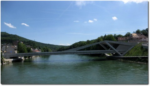 Neue Aarebrücke in Olten