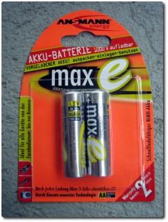 Neue Akku Batterien