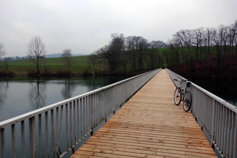 Aarebrücke am Emmenspitz