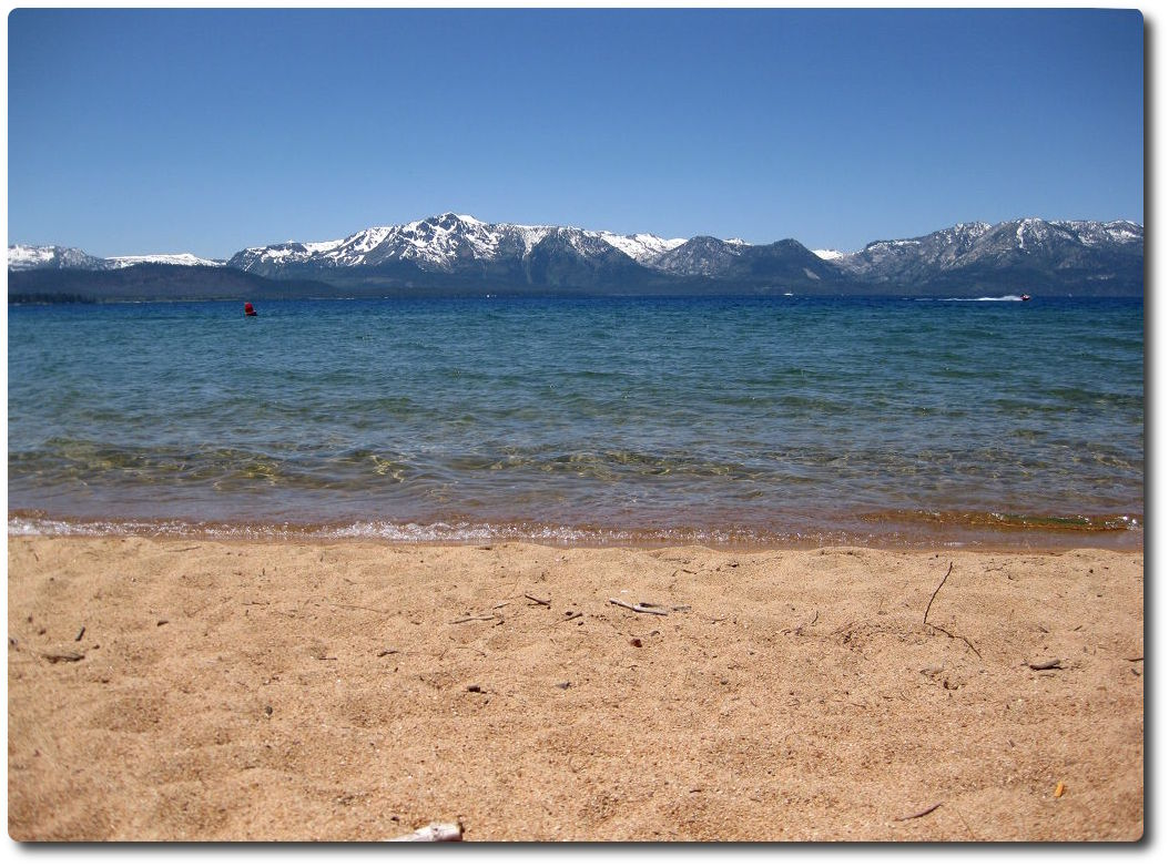 Lake Tahoe - Nevada State Beach