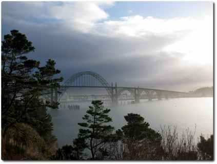 Brücke in Newport, OR
