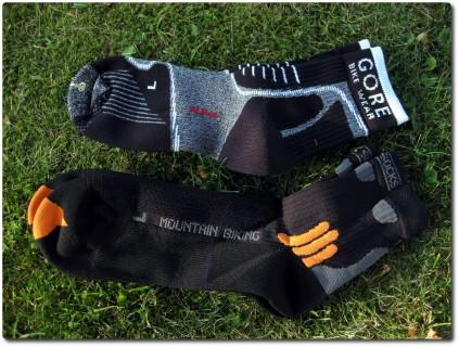 MTB Socken von Gore und X-Socks