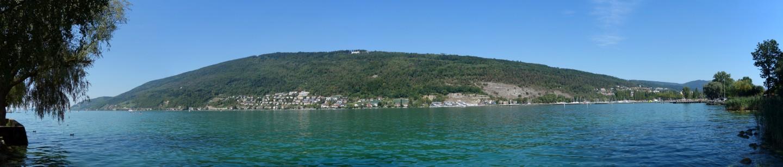 Panorama Bielersee bei Nidau