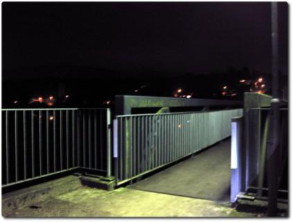 Nacht an der Aare
