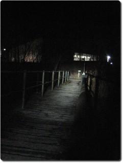 Industrieanlage Attisholz bei Nacht
