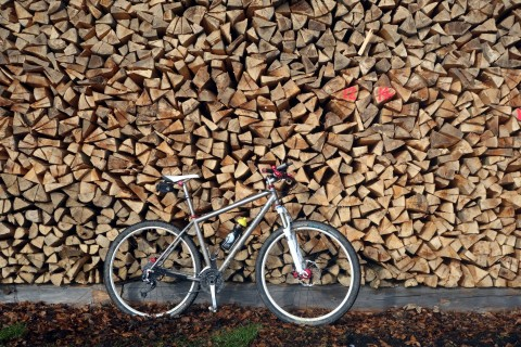 Ti29-40 vor Holzstoss